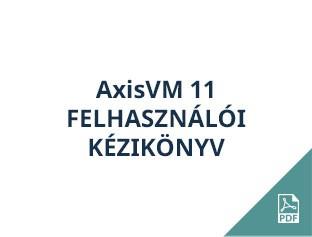 AxisVM 11 felhasználói kézikönyv