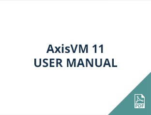 AxisVM 11 user manual