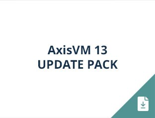 AxisVM 13 update pack