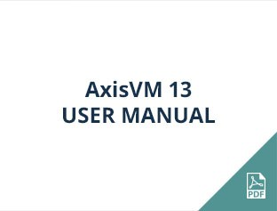 AxisVM 13 user manual