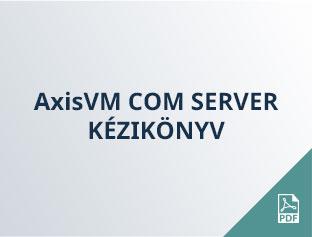 AxisVM COM SERVER kézikönyv