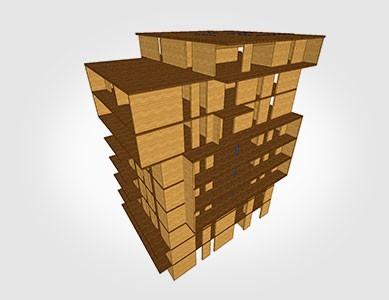 AxisVM faszerkezetek