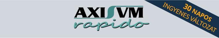 AxisVM Rapido próbaverzió