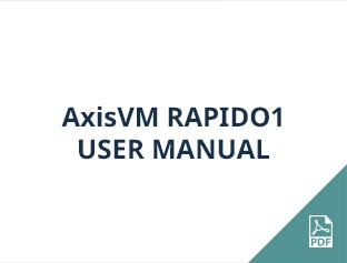 AxisVM Rapido1 user manual