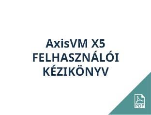 AxisVM X5 felhasználói kézikönyv