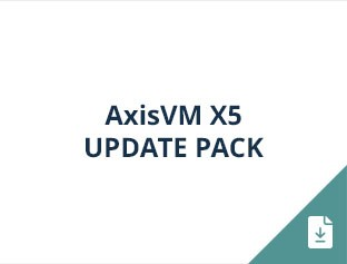 AxisVM X5 update pack