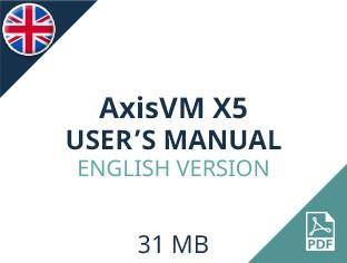 AxisVM X5 User Manual English Version