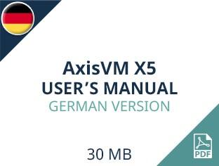 AxisVM X5 User Manual German Version
