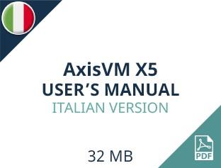 AxisVM X5 User Manual Italian Version