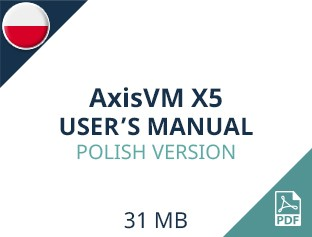 AxisVM X5 User Manual Polish Version