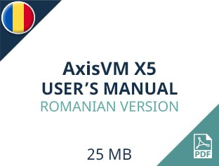 AxisVM X5 User Manual Romanian Version