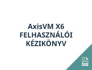 AxisVM X6 felhasználói kézikönyv