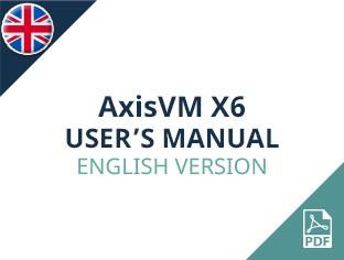 AxisVM X6 User Manual English Version
