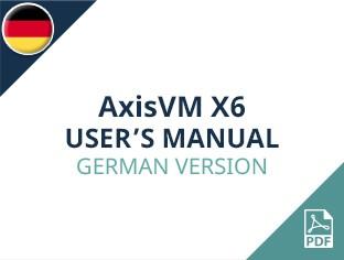 AxisVM X6 User Manual German Version