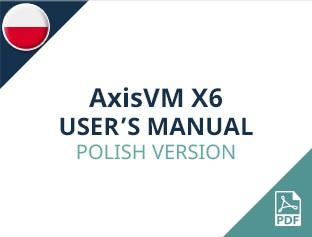 AxisVM X6 User Manual Polish Version