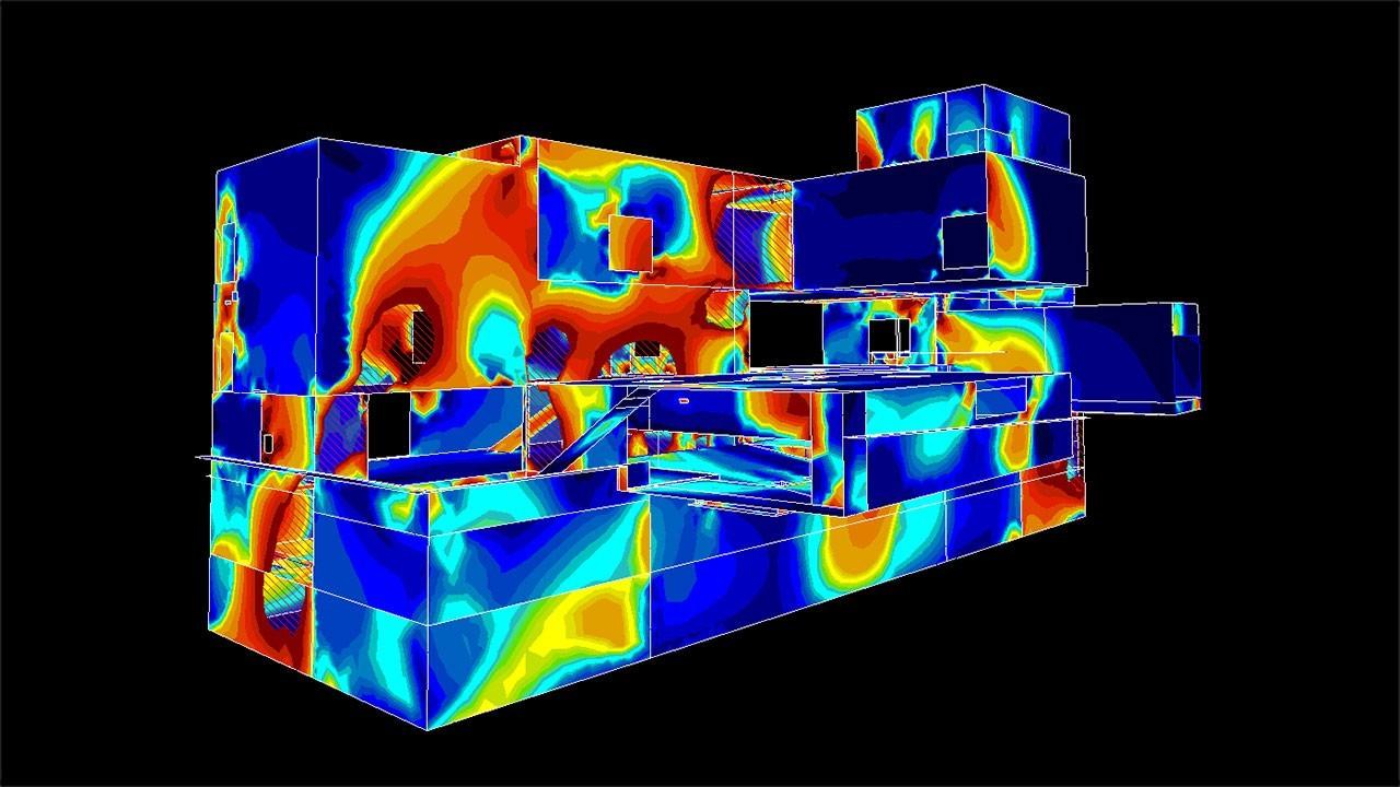 FEA Software Art - vasbeton szerkezet