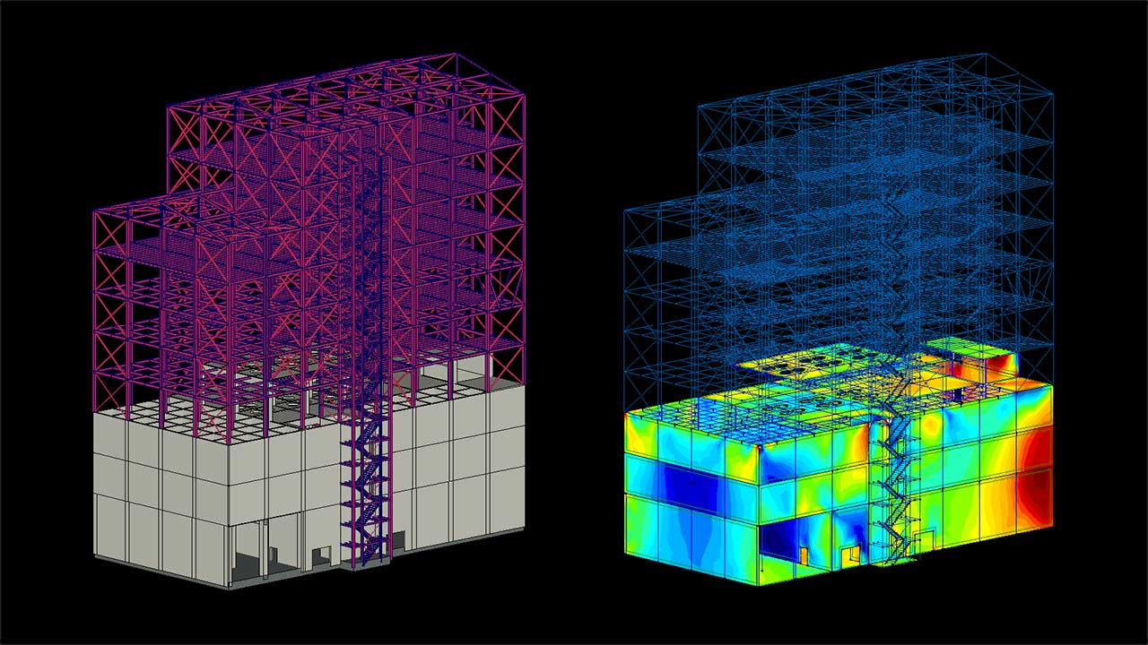 Feed Mill Expansion - reinforced concrete steel structur