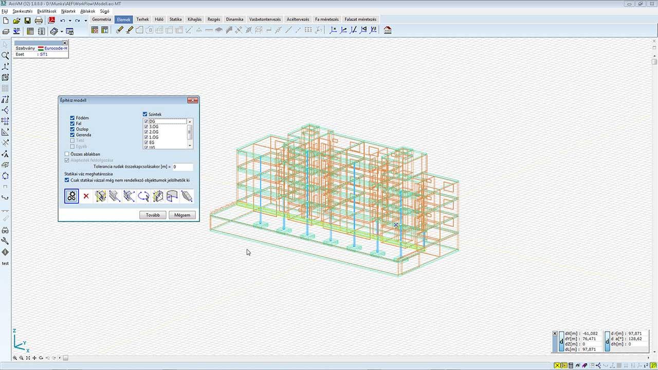 IFC - építész objektumok