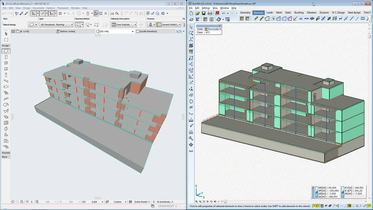 IFC - structural analysis model