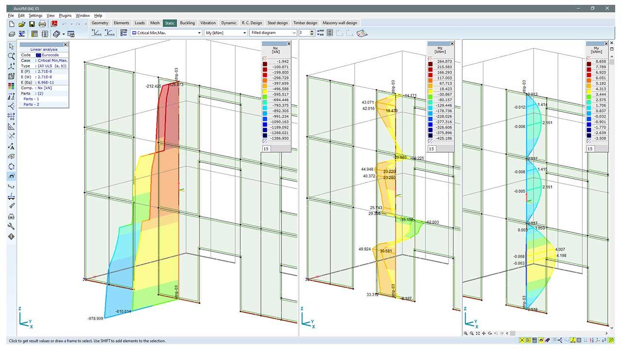 MD1 - checking wall segments