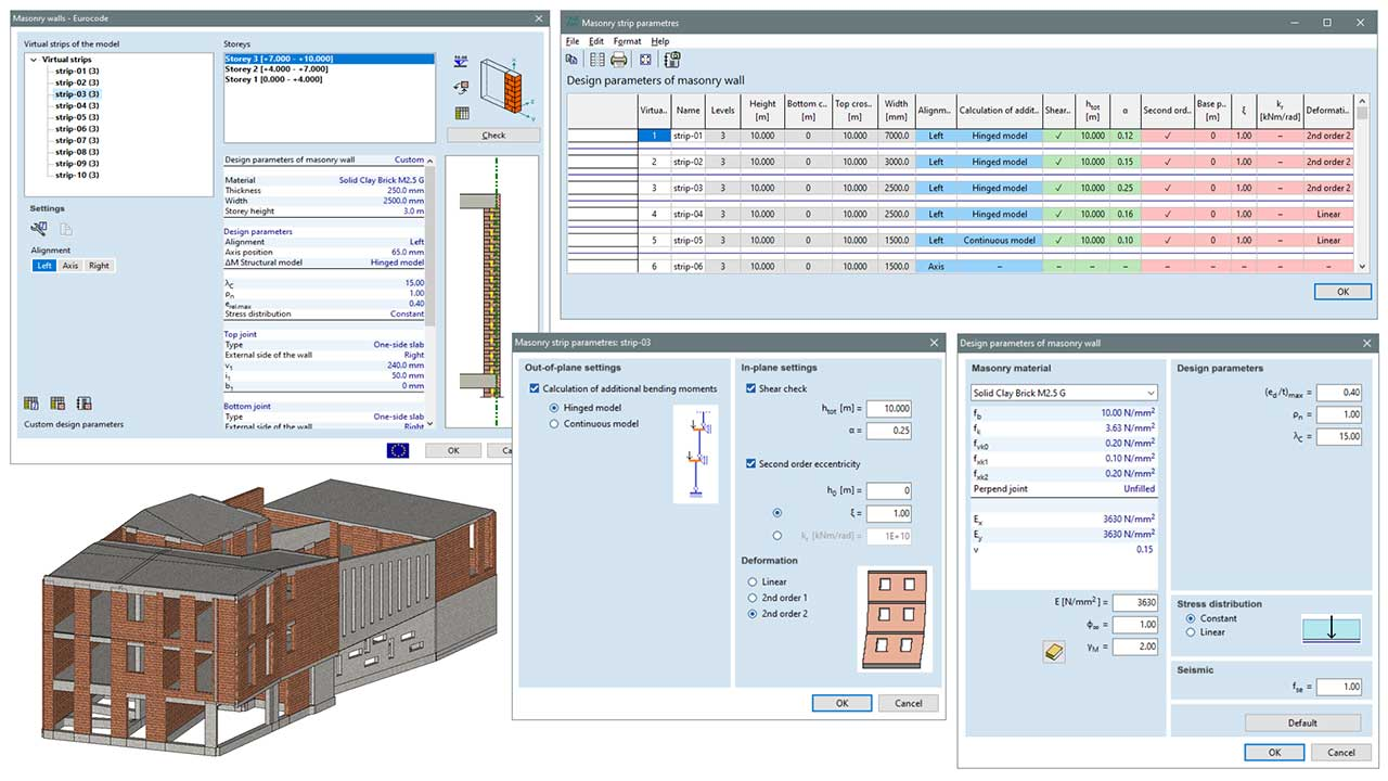 MD1 - design parameters