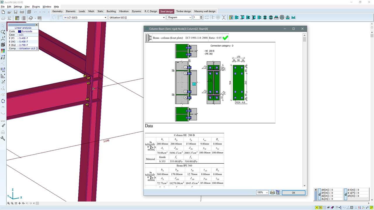 SC1 - detailed design calculation
