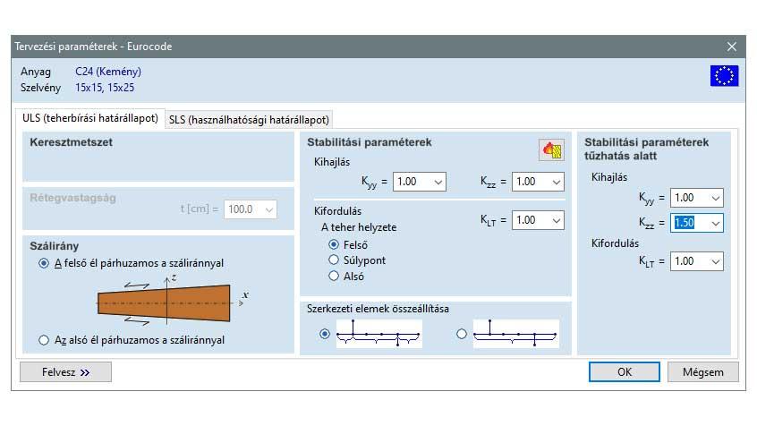 TD8 - egyedi tervezési paraméterek
