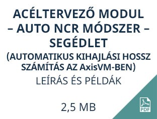 acéltervező acéltervező modul auto ncr módszer segédletmodul auto ncr módszer segédlet