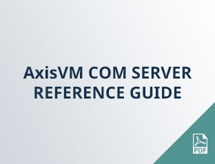 AxisVM COM SERVER reference guide
