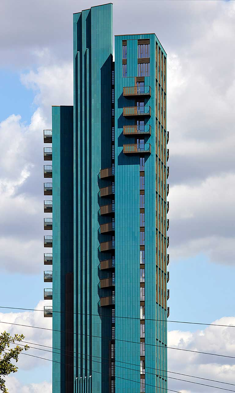 Mapleton Crescent - concrete structure residential tower