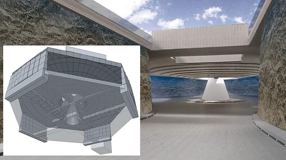 Wankdorfplatz, underground roundabout - concrete structure