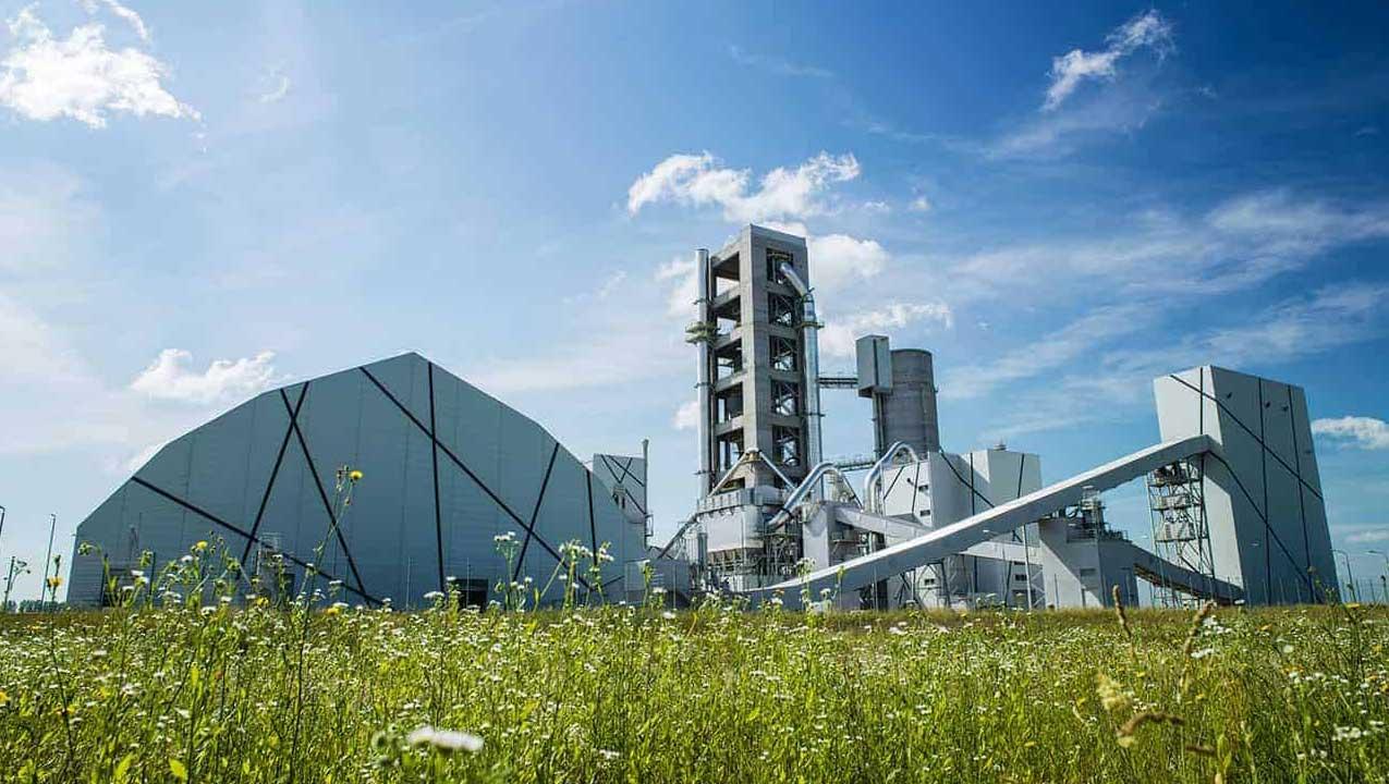 LafargeHolcim Cement Factory - reinforced concrete structure