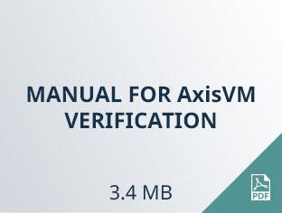 manual for AxisVM verification