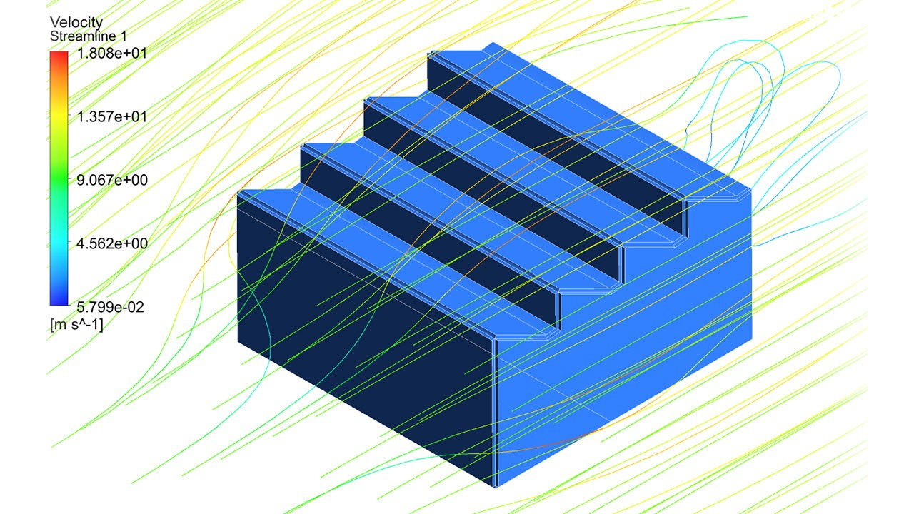 CFD - Determination of pressure distribution