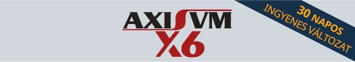 AxisVM X6 próbaverzió