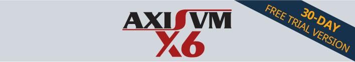 AxisVM X6 free trial version