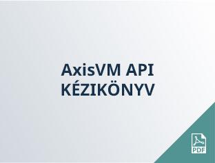 AxisVM API kézikönyv