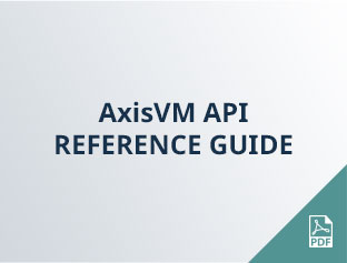 AxisVM API reference guide