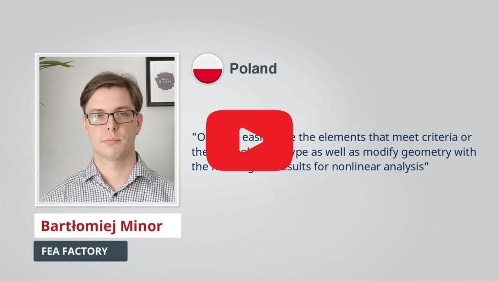 AxisVM Testimonial Bartłomiej Minor PL