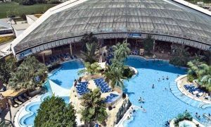 Aquapark, Mszczonów, Lengyelorszag - acélszerkezet