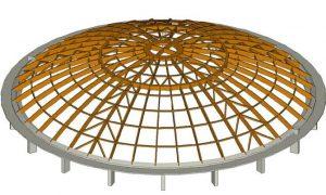 Aquaworld Resort Budapest - timber structure