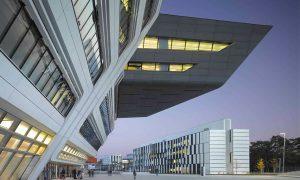 Bécsi Közgazdasági Egyetem Könyvtárépülete