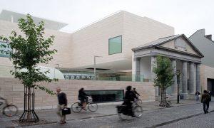 M Múzeum - vasbeton szerkezet