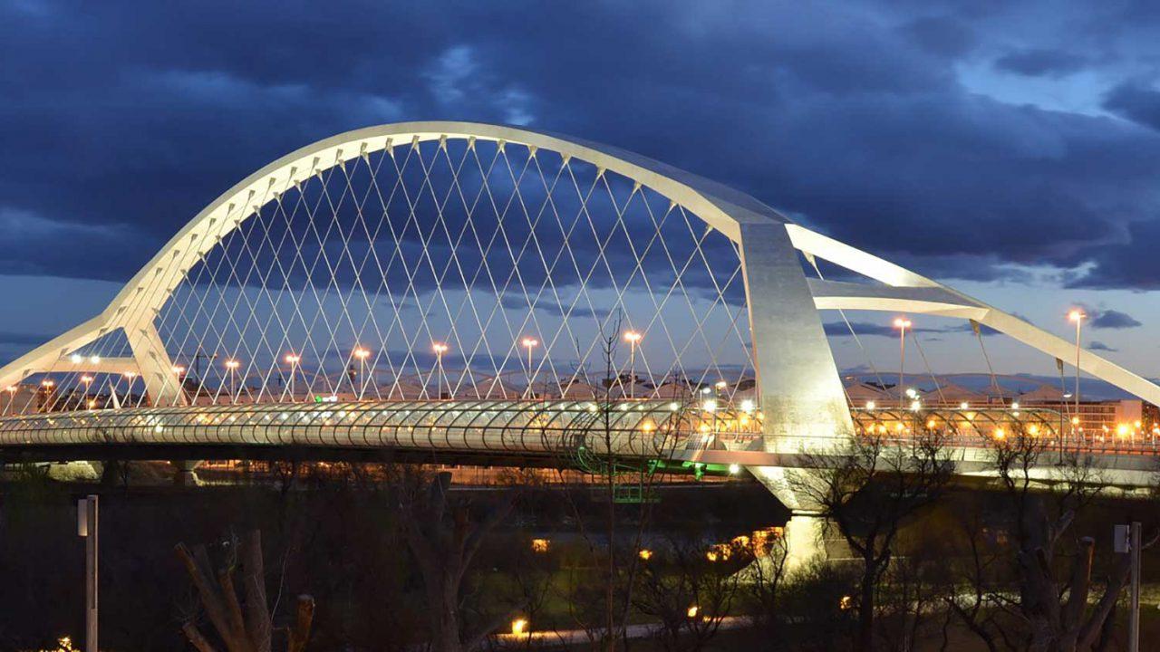 Third Millennium híd - vasbeton szerkezet