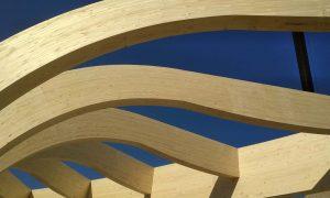 Wellness Centrum Aquamarin - timber structure