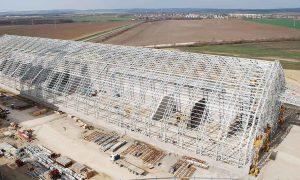 LafargeHolcim Cementgyár - vasbeton szerkezet