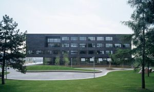 Les Tuillières Középiskola - vasbeton szerkezet