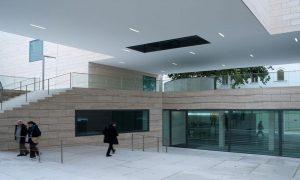 M Museum - reinforced concrete structure