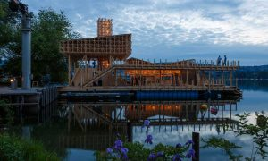 Pavilion of Reflections - timber structure