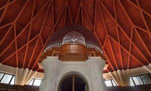 Pázmány Péter University, Auditorium Maximum - timber-structure